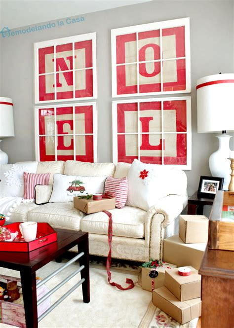 Browse through our best wall art display advice to find the ideas and inspiration you need to take your space from bland to beautiful. 8 DIY Christmas Wall Art Projects - Sand and Sisal