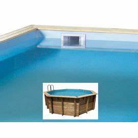 Liner Piscine Octogonale : liner ubbink octogonale pour piscine bois ocea 75 100 me ~ Melissatoandfro.com Idées de Décoration