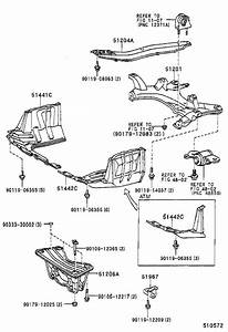Toyota Rav4 Engine Cradle  Front   Crossmember  Suspension