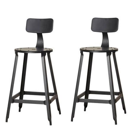 cdiscount chaise de bar tabouret industriel achat vente tabouret industriel