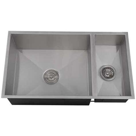 square undermount stainless steel kitchen sink ticor s6502 undermount stainless square kitchen sink