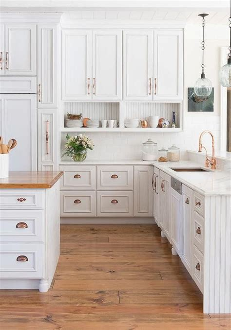 copper kitchen cabinet hardware amazing kitchen features white raised panel cabinets