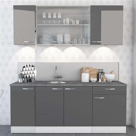 meuble cuisine et gris stunning meuble de cuisine gris et blanc pictures