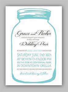 17 best images about wedding on pinterest mason jars With free printable wedding invitations mason jars