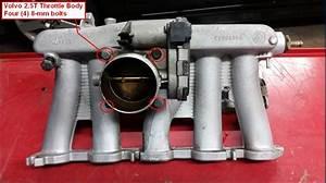 Diy  2005 Xc90 2 5t Throttle Body Cleaning