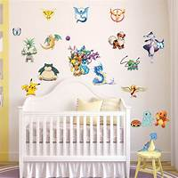 great kidsroom wall decals Pokemon Go Wall Sticker Removable Pikachu Decals Vinyl Mural Kids Room Decor DIY | eBay