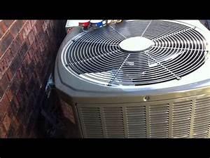 Hvac Install  2 5 Ton Trane Xr 15 System