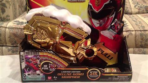 Sdcc 2013 Limited Edition Deluxe Gold Gosei Morpher Review