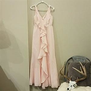 75 off david39s bridal dresses skirts flowy blush pink With flowy dresses for wedding guest
