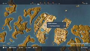 Assassin's Creed Origins Papyrus Puzzle Solutions & Locations