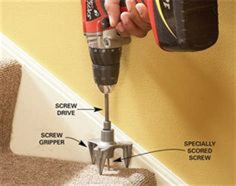 fixing squeaky floors through carpet 1000 images about carpet repair diy on