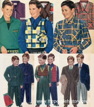 childrens fashion part   fifties fashions section