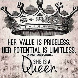 Instagram Post ... Queen And Crown Quotes
