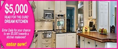 win a free kitchen makeover win 5 000 towards the kitchen of your dreams 1900