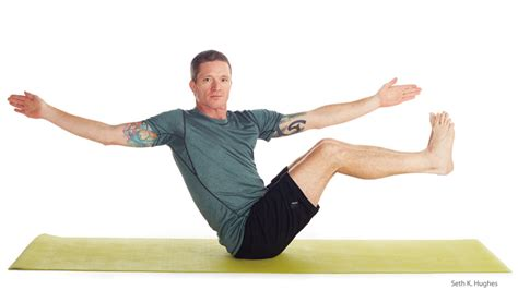 Boat Pose Twist by Everyday For Athletes 9 Poses To Balance