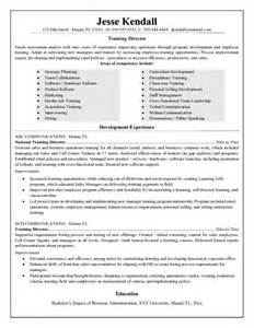 Professional Development Trainer Resume by Exle Director Resume Free Sle