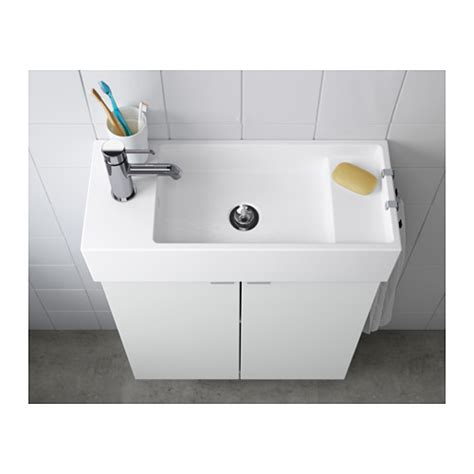 Ikea Lillangen Sink Uk by Lill 197 Ngen Single Wash Basin White 60x27x14 Cm Ikea