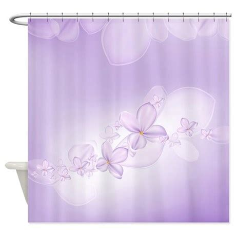 lilac shower curtain soft lilac flowers shower curtain by showercurtainshop