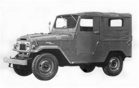 1958 - 1962 Toyota Land Cruiser