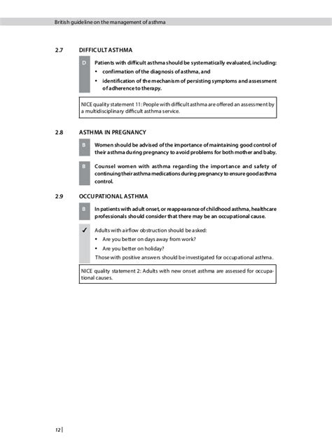 British guideline on the management of asthma