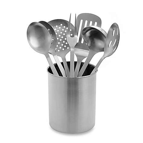 Eightpiece Stainless Steel Kitchen Utensil Set Www