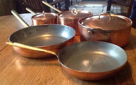 tagus  piece copper pot set copper pot set copper pots copper kitchen decor
