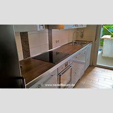 Küchenarbeitsplatte Riedelfliesenwesthofen