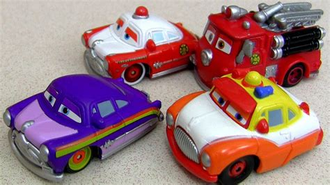 Custom Doc Hudson And Red With Sheriff Mini Adventures Cars