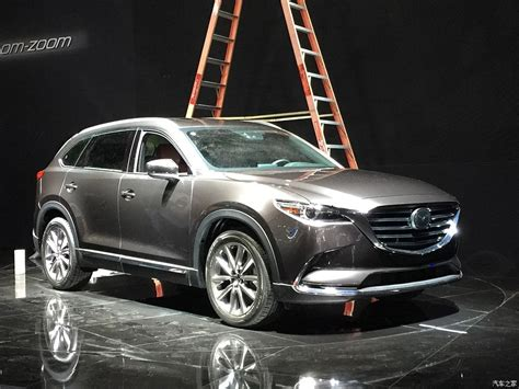 mazda cx  leaked   los angeles auto show