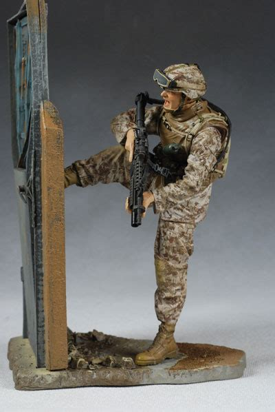 military series  action figures  pop culture collectible review  michael crawford