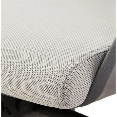 fauteuil de bureau tissu fauteuil de bureau ergonomique ramy en tissu gris