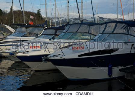 Motor Boats For Sale Lake Windermere by Uk Yacht Sale Marina In Stock Photos Uk Yacht Sale