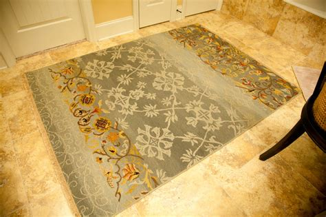 bathroom area rug eclectic bathroom other metro by fresh perspective design decor llc