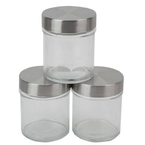 kitchen glass canisters hell 39 s kitchen storage set 3 top glass