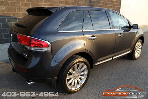 lincoln mkx awd limited loaded  mileage