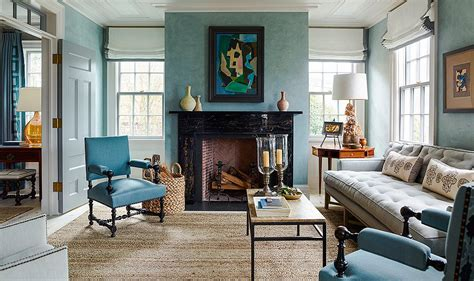 8 top interior designers their favorite blue paint