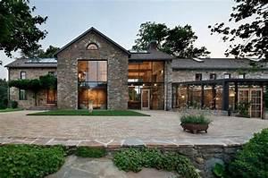 terrasse bois et pierre pour un exterieur tout naturel et With maison bois et pierre