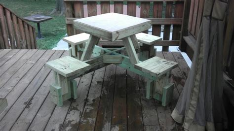 build  awesome floating picnic table  projectsatobn