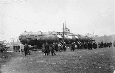 German U Boats by In 1917 A German U Boat Submarine Ended Up In Central