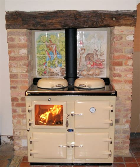 country kitchen stoves wood wood fired burning aga kitchen cooking 2899