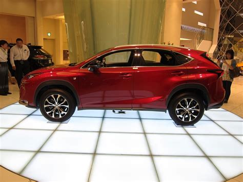 lexus nx red lexus nx 200t shows up in new matador red mica autoevolution