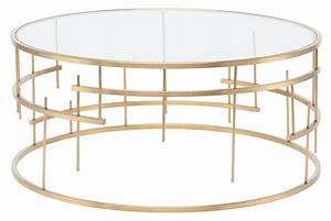 tiffany brushed gold stainless coffee table hgde159 nuevo With brushed gold coffee table