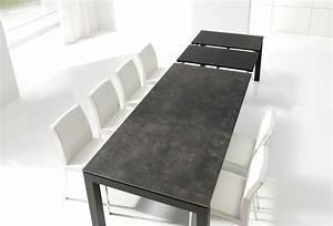 acheter table enix extensible mobliberica meubles With deco cuisine avec table a manger 80 cm de large