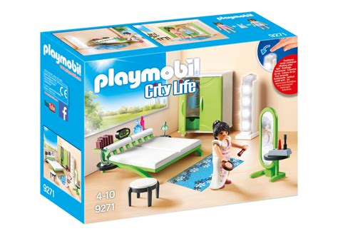 bureau playmobil bedroom 9271 playmobil