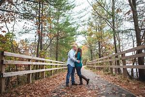 Super Fun Outdoor Fall Engagement Photos