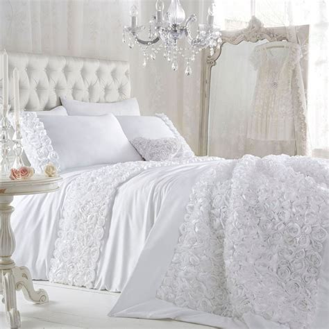 Star By Julien Macdonald White 'antoinette' Bed Linen From