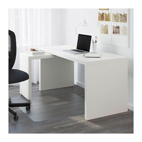 bureau malm ikea malm bureau met uittrekbaar blad wit ikea
