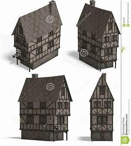 Häuser Im Mittelalter : mittelalterliche h user taverne lizenzfreie ~ Lizthompson.info Haus und Dekorationen