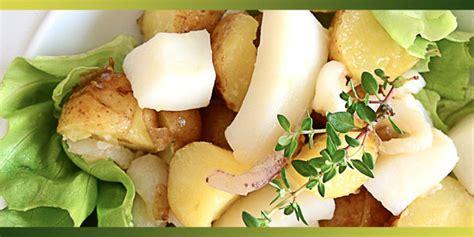 cuisiner la girolle seiche en salade et pommes de terre primeur je cuisine