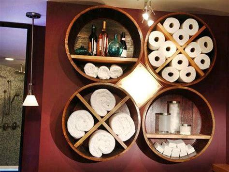 wine barrel shelf wine barrel bar table and many other diy furniture that